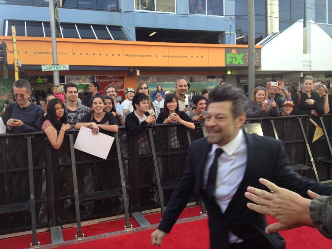 We know this one.. it's Andy Serkis (Gollum)